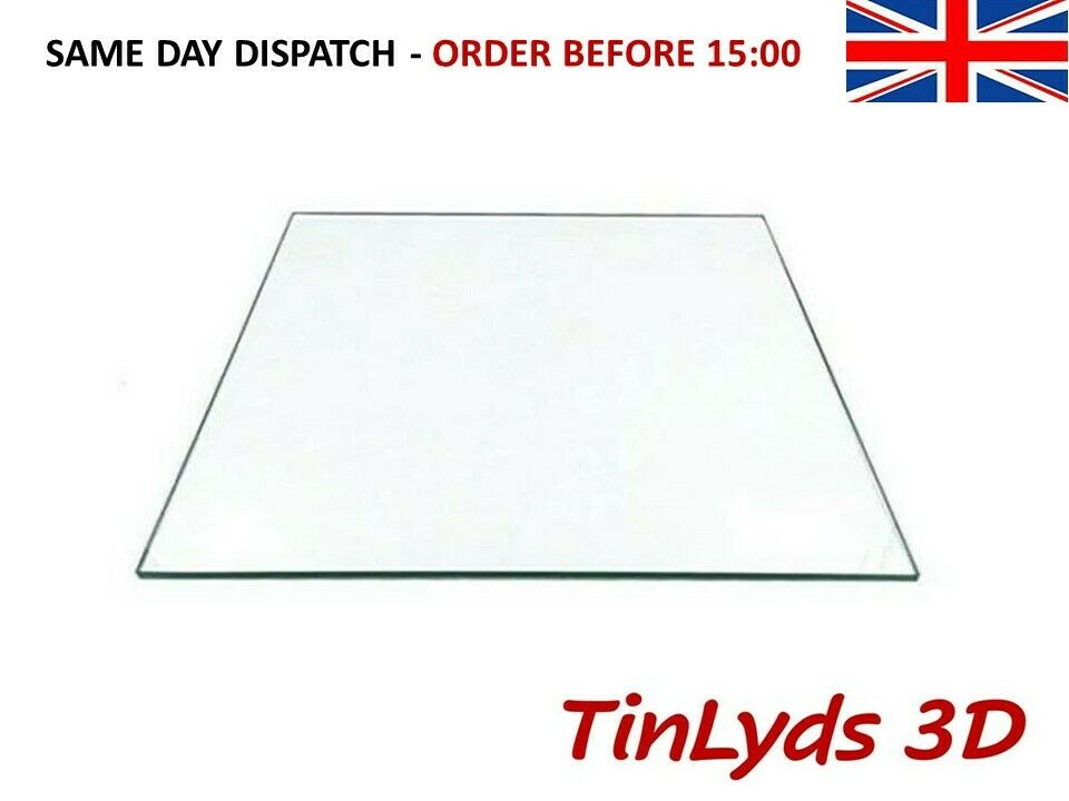 3D Printer Borosilicate Glass Build Plate For Heated Bed CR-10 CTC ANET ENDER