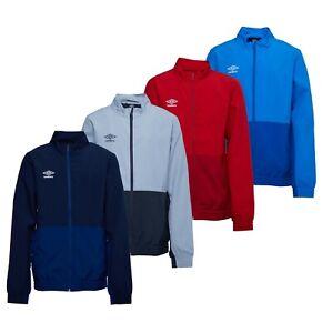 Garcons-Umbro-Tisse-sportwear-Casual-Veste-Formation-Tailles-Age-De-7-To-14-ans