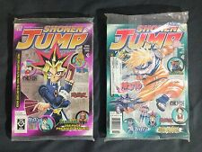 Viz Shonen Jump 2003 Vol 1. Issue 1&2 (Unopened) Include W/ Yu-Gi-Oh BEWD Card