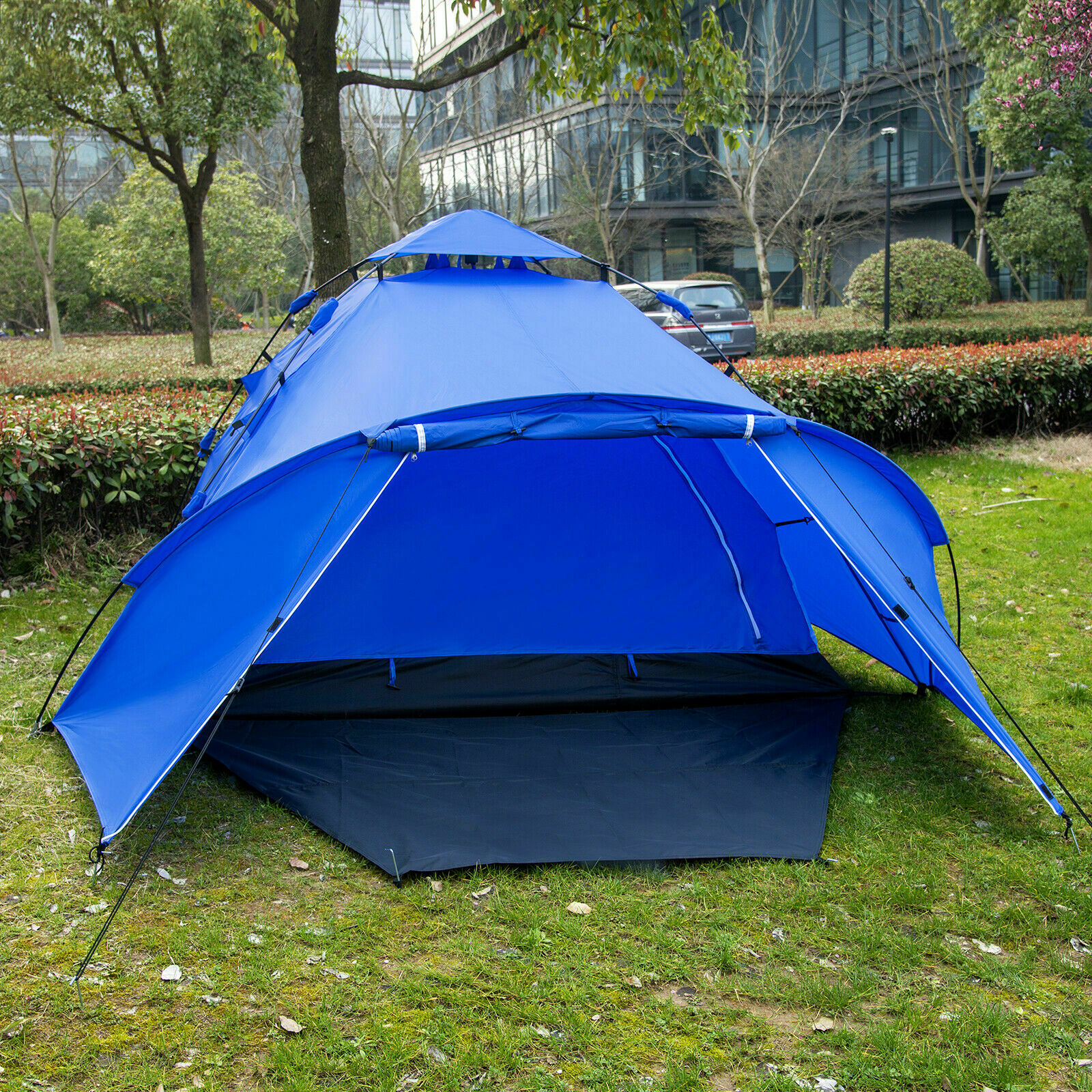 Outdoor Pop Up Wurfzelt leichtes 3-4 Personen Camping Festival Sekundenzelt Zelt