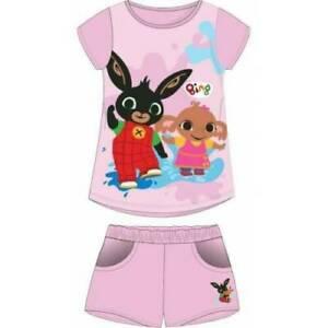 BING Bunny Girls CBeebies Pantaloncini T-shirt Estate stabilisce nuovi