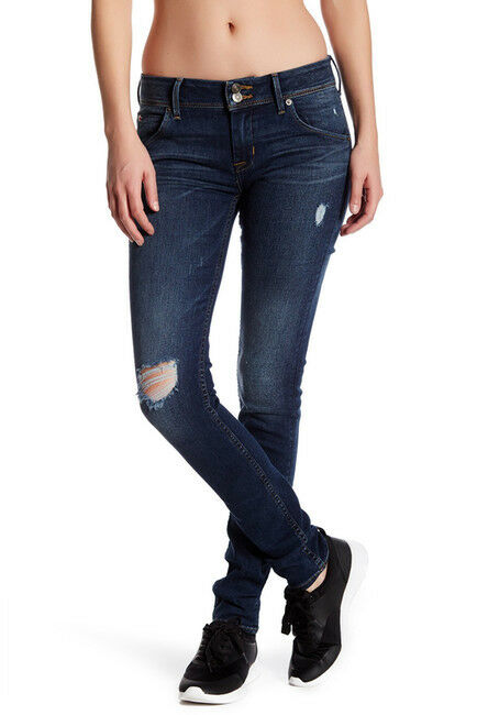 NWT HUDSON Jeans Collin Skinny Jean 24  189.00