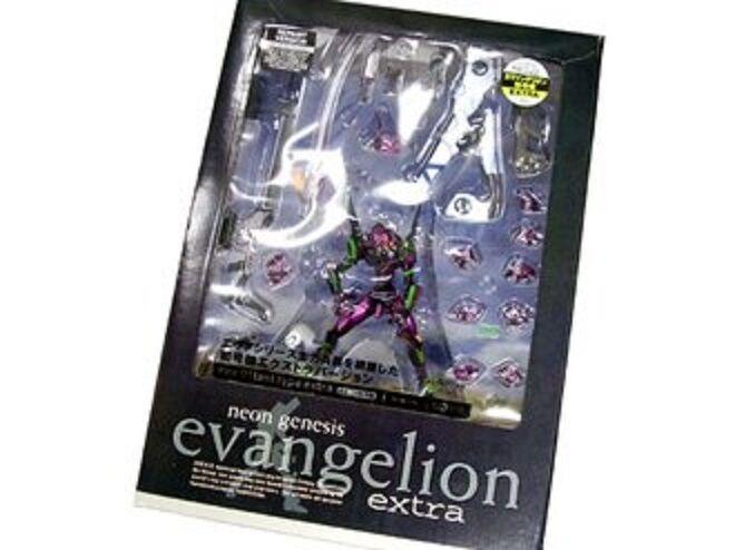 Neon Genesis Evangelion Extra  Eva-01 Test Type by Kaiyodo USED A