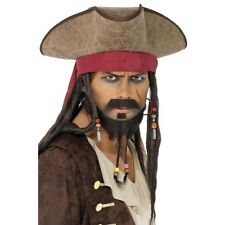 Fancy-dress Costume Pirate Poldark Jack Sparrow Tricorne Highwayman Hat