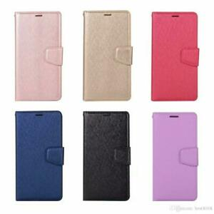 Pour-Samsung-Galaxy-A20-A30-A50-etui-Portefeuille-en-cuir-Flip-Porte-Carte-Support-Housse