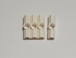 10x LEGO® Technic 32034 Achs und Pin-Verbinder #2 schwarz Winkel 180° NEU