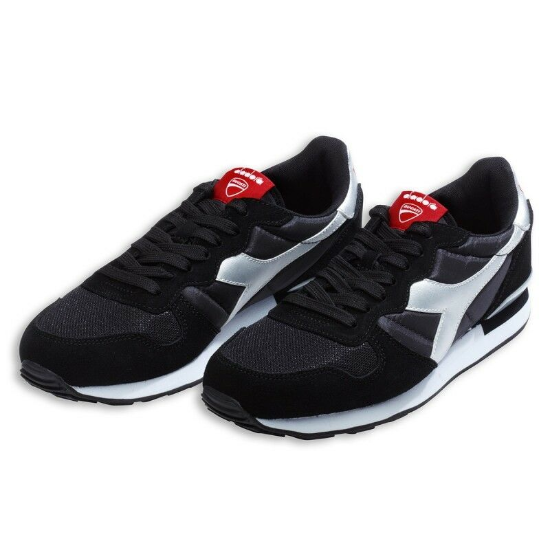 Ducati Diadora Camaro Sneakers shoes Trainers shoes shoes Black New