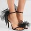 Womens-High-Heels-Lace-Sandals-Peep-Toe-Satin-Stiletto-Party-Shoes-Wedding-Pumps thumbnail 6