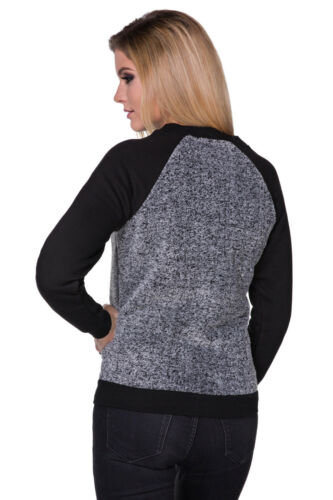 Ladies Comfy Casual Warm Zip Up Long Sleeve Fitted Jumper Fleece Top FZ107
