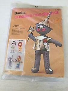 Bucilla TIN MAN WIZARD OF OZ Creative needlecraft embroidery #2372 new