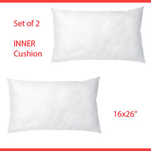 Image Is Loading Ikea 2 Cushion Pad Inner Throw Pillows Insert