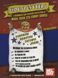 Details about Side Splitters 125 Funny Songs Melody & Chords Music Book
