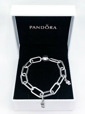 100% Authentic NEW PANDORA Me Chunky Links Bracelet 925 Ale Silver 598373 |  eBay