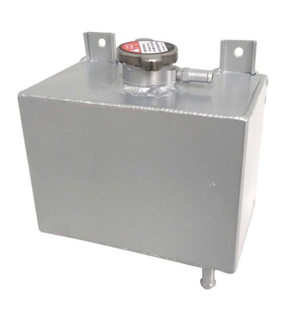 Universal Aluminum Alloy Radiator Overflow Coolant Tank  Bottle  Reservior Water