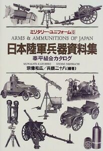 Japanese Army weapons Book (Military uniforms) soft cover 1999/12 Japan w/o OBI