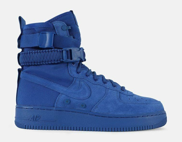 Nike Special Field SF Air Force 1 Game Royal Blue Suede 864024-401 All Triple Seasonal clearance sale