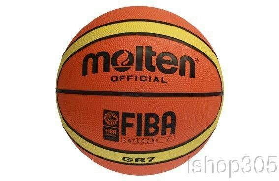 0cfd5dc6917258 Molten Gr7 Approved Basketball FIBA Size 7 Bgr7-ybw for sale online | eBay