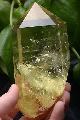 Specimen Transparent Crystal Point Citrine Quartz 369g f0x6nIq8Un