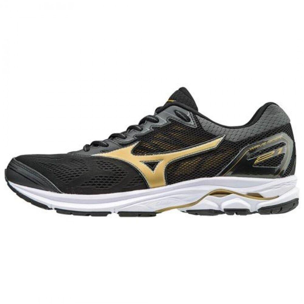 MIZUNO chaussures de running Wave Rider 21 J1GC1803 noir × or F S