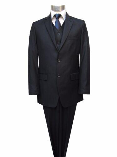 homme 3 taille 48 élégant foncé bleu Costume pièces dqCwWa