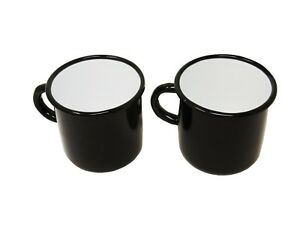 2-mugs-en-metal-emaille-250-ou-400-ml-Diverses-couleurs