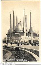 Brussels Exposition / Exposition de Bruxelles 1935 Postcard - Catholic Life