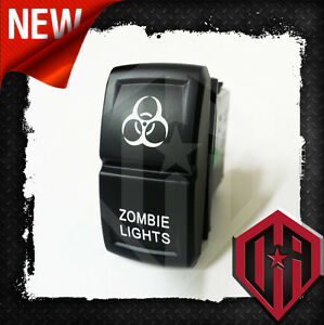 Universal Offroad Arsenal Custom Zombie Lights Laser Etch