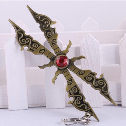 DZ636 Irelia League of Legends LOL Weapon Metal Keychain Keyring Key Pendant !