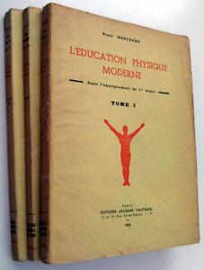 """L'education physique moderne dans l'enseignement du 1er degré Marchand R. 1945 - France - Commentaires du vendeur : """"Etat neuf"""" - France"""
