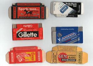 Razor-Blade-Wrappers-Lamette-da-barba-Rasierklinge-Lame-de-rasoire-944