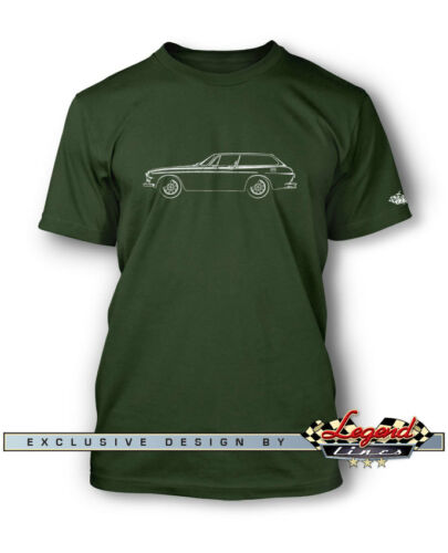 Volvo 1800 ES Station Wagon T-Shirt for Men Multiple Colors and Sizes