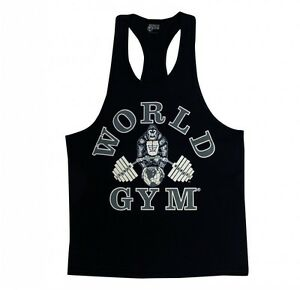 World-Gym-Workout-Tank-Top-Racerback-Bodybuilding-Gym-Clothes-W310