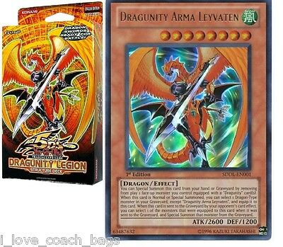 Dragunity Legion 1st New English Structure Deck No Box but Sealed