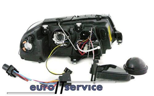 NEUF FEUX AVANT PHARES LPVW33 VW PASSAT 3BG B5 2000-2003 2004 2005 ANGEL EYES