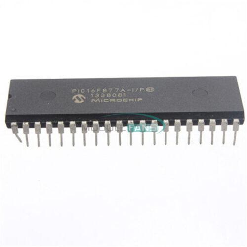 5PCS MICROCHIP IC PIC16F877A-I//P DIP-40 PIC16F877A IC