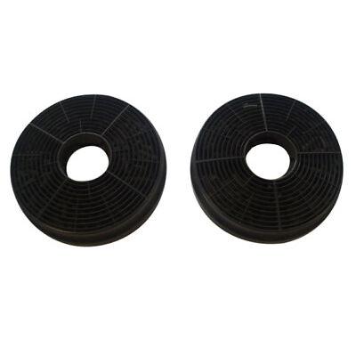 2 Stück Bomann Aktiv-Kohlefilter Aktivkohlefilter KF 563 für DU 650 G/DU 652 IX