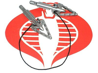 Batman Weapon BOLA STRIKE Batman Silver Missiles w Rope Kenner 1991
