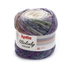 Katia Azteca Milrayas diverse Farben
