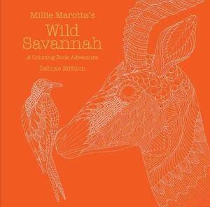 Stock Photo Millie Marottas Wild Savannah Coloring Book Adventure Deluxe Edition