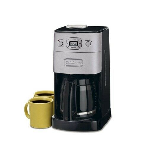 Coffee Maker 12 Cup 60 Oz Drip Brewer Grind & Brew Programmable Bean Grinder New