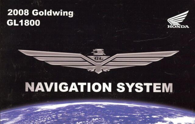 2008 honda gl1800 goldwing gps navigation system owners manual gl rh ebay co uk 2007 honda goldwing owners manual 2007 Honda Goldwing Colors