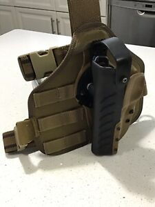 Details about G-Code SOC Rig 5207 Beretta 92 Holster & Eagle Industries  Drop Leg Panel LH