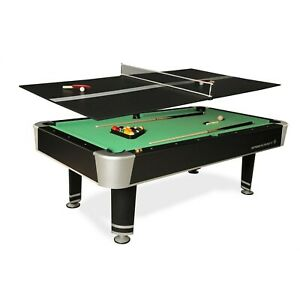 Pool Table Game Room 7.5 Feet Billiard Table Tennis Top ...