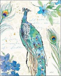 ANNE-tavoletti-Peacock-garden-II-camilla-imagen-de-Pantalla-Pavo-verde-pajaros