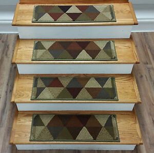 Image Is Loading Rug Depot 13 Contemporary Carpet Stair Treads 26