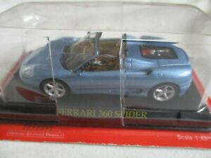 Miniature-Ferrari-360-Spider-Blue-Ixo-Press-1-43