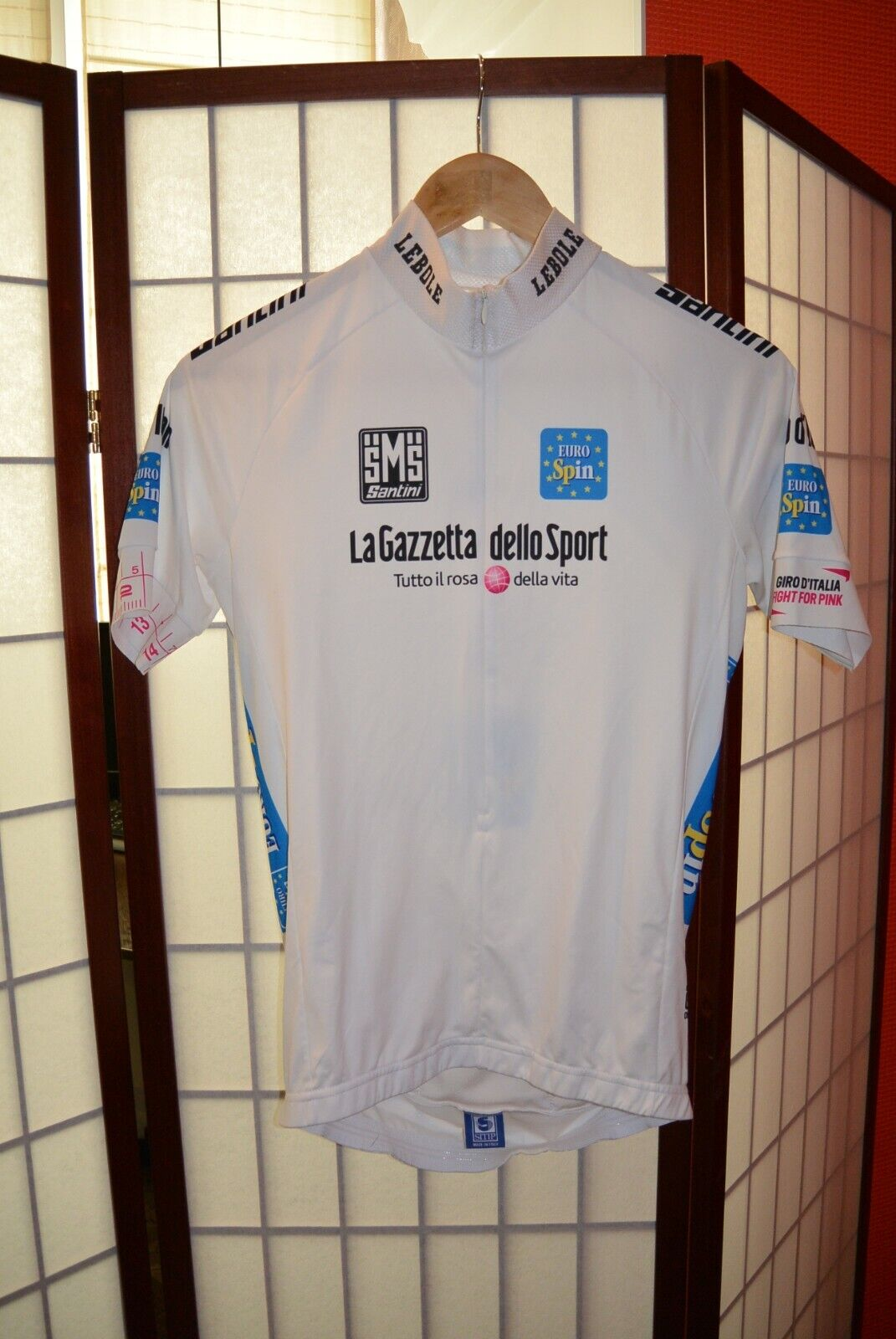 LA  Gazzettar dello Sport Euro Spin SMS retro vintage  cycling jersey ()  fashion mall