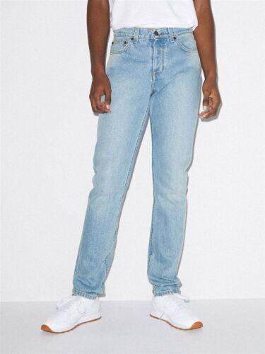 American Apparel Classic Jeans 33 Light Wash NEW RSADM437