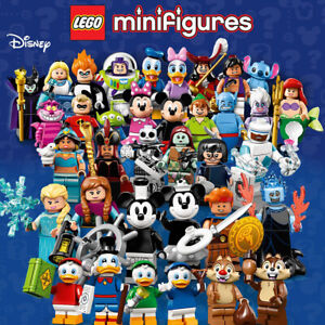 LEGO-Minifigures-Disney-Series-1-amp-2-Singles-or-Complete-Sets-IN-HAND