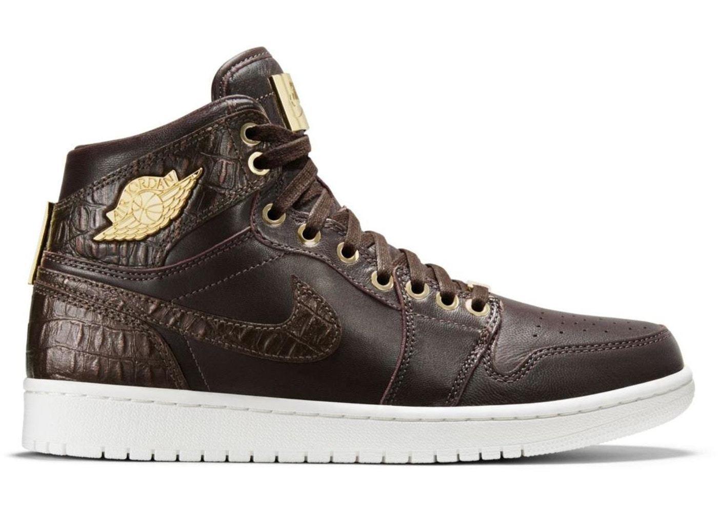 NIKE Air Jordan 1 Pinnacle 'Baroque Brown' - Size 8.5 (705075-205)